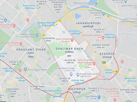 Shalimar Bagh, Delhi